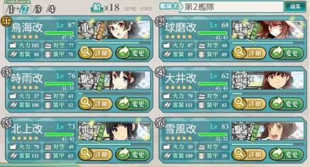 編成第2艦隊